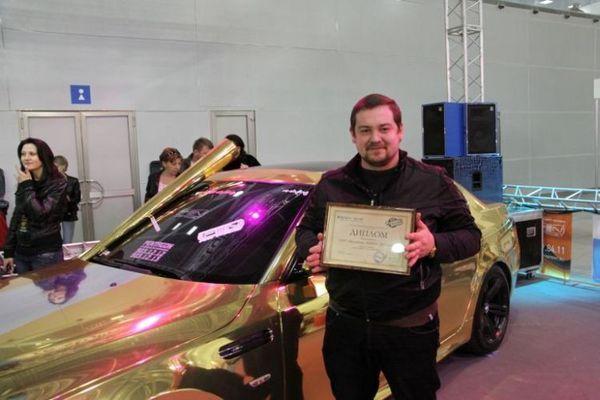 Golden Chrome BMW M5 E60 (11 фото)