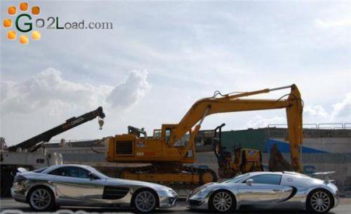 Подборка хромированных машин (47 фото)