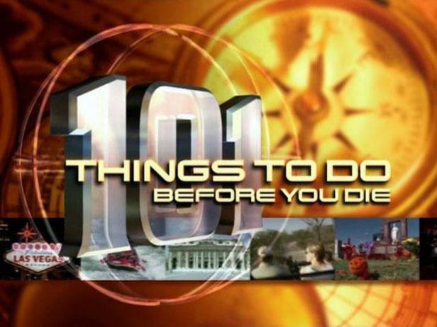 Discovery - 101 вещь, которую стоит сделать перед смертью