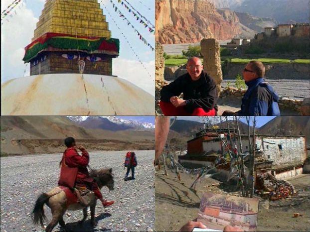 GEO - Тибет Запретное Королевство (2004) DVDRip Часть 1