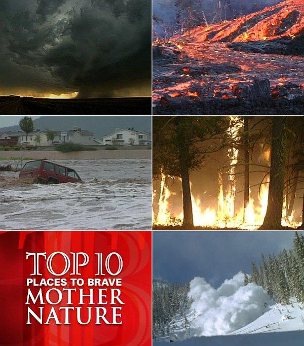 Discovery - 10 самых опасных мест на планете (2003) DVDRip