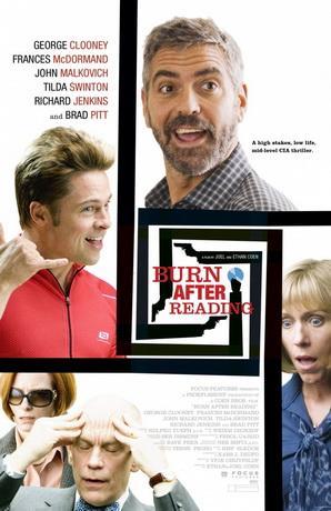 После прочтения cжечь / Burn After Reading (2008) DVDRip
