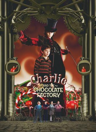 Чарли и шоколадная фабрика / Charlie and the Chocolate Factory (2005) DVDRip