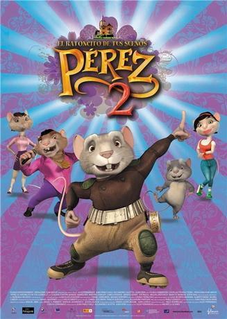 Приключения мышонка Переса2 / El ratón Pérez 2 (2008) DVDRip