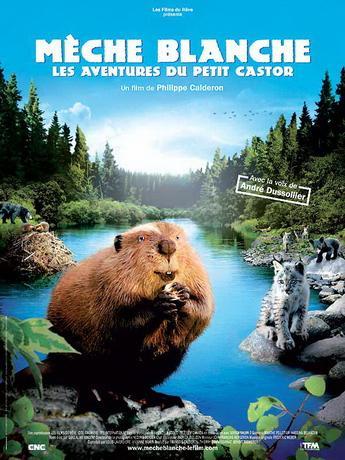 Приключения бобрёнка / M232;che Blanche, les aventures du petit castor (2008) DVDRip