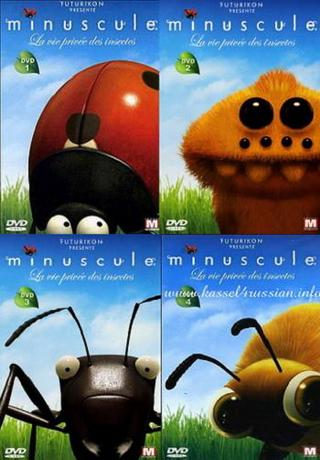 Крохи / Minuscule (2007) DVDRip (4 части)