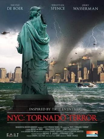 Ужас торнадо в Нью-Йорке / NYC: Tornado Terror (2008) DVDRip