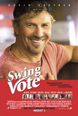 На трезвую голову / Swing Vote (2008) DVDRip