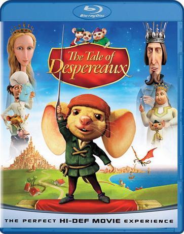 Приключения Десперо / The Tale of Despereaux (2008) BDRip