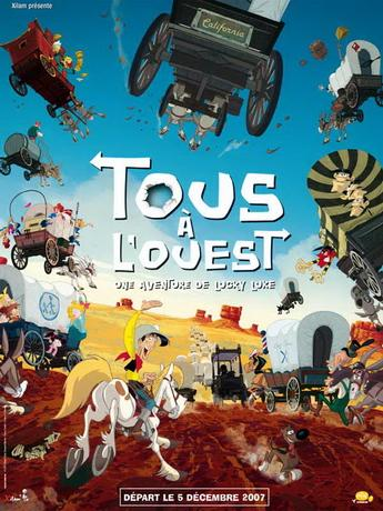 Путешествие на запад / Tous a l'Ouest: Une aventure de Lucky Luke (2007) DVDRip