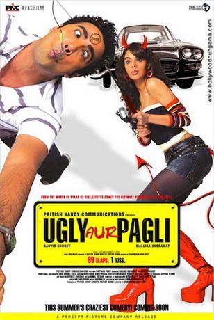 Странная парочка / Ugly Aur Pagli (2008) DVDRip