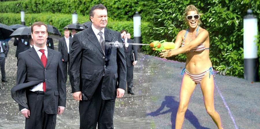 Венок на голову Януковича - подборка ФОТОжаб (19-05-2010)