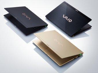 Sony анонсировала самый легкий ноутбук в мире