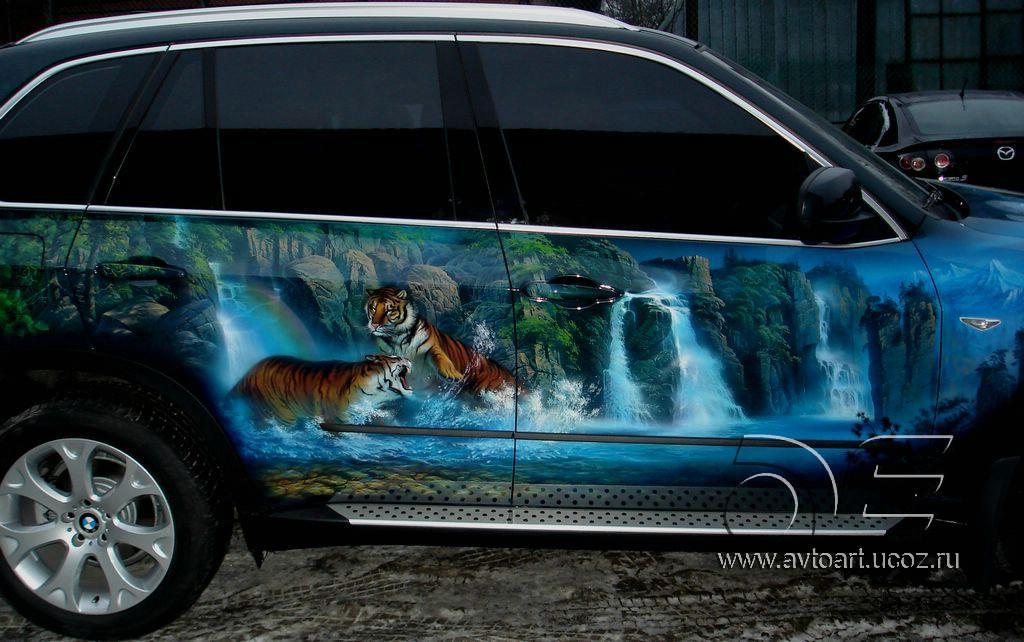 BMW X5. Аэрография