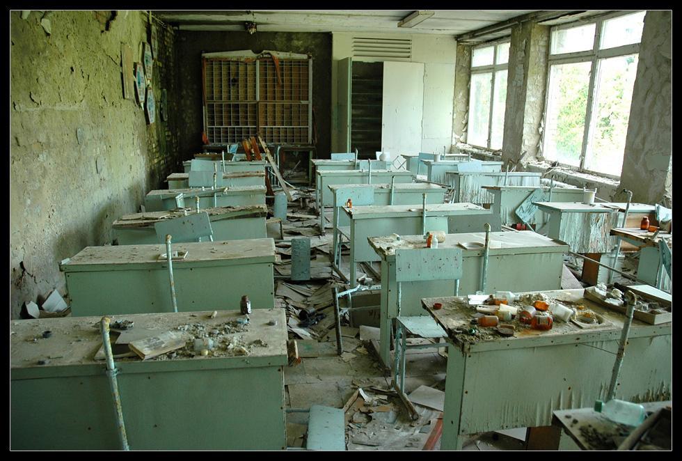 Припять, Чернобыль, ЧАЭС, зона отчуждения - Фото.