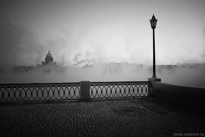 Городской пейзаж Санкт-Петербурга