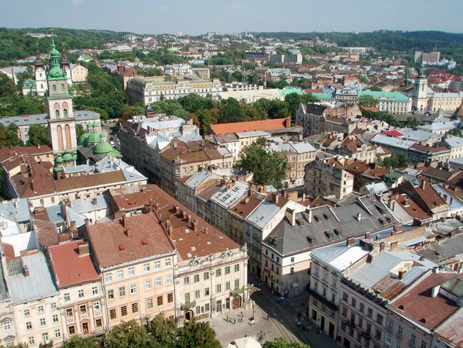 Город Львов. Красивые фотографии
