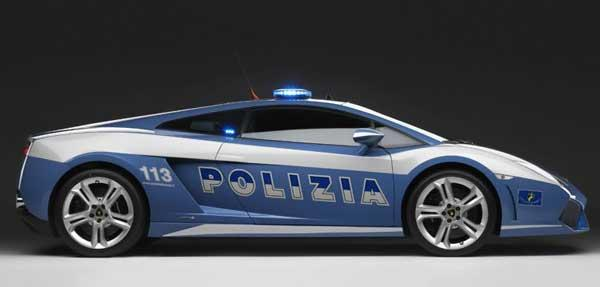 Самый шикарный в мире полицейский автомобиль