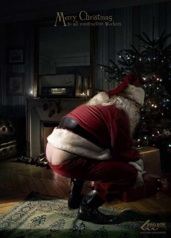 Рождественская реклама