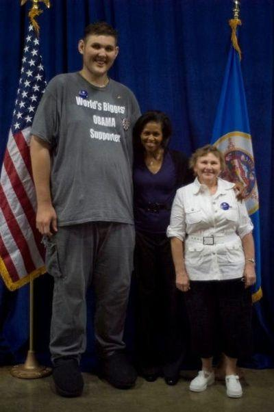 Киевлянин — самый высокий человек США (30 фото)