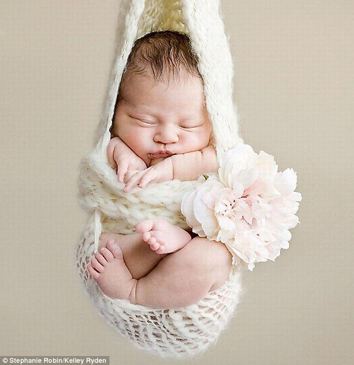 Крепкий сон младенцев (11 фото)
