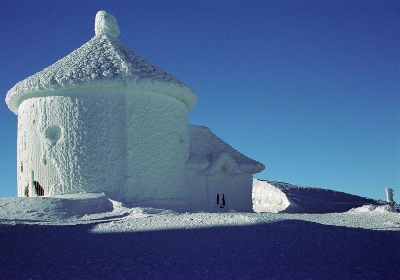 Так вот где живет снежная королева! (22 фото)