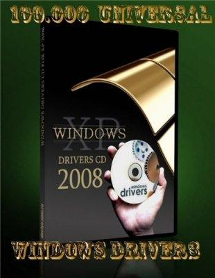 100.000 Universal Windows Drivers 09-2008 (DVD)