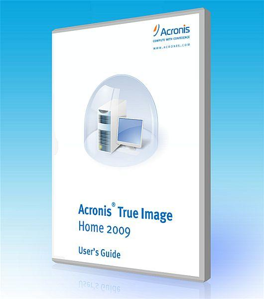 Acronis True Image Home 2009 v12 Build 9608