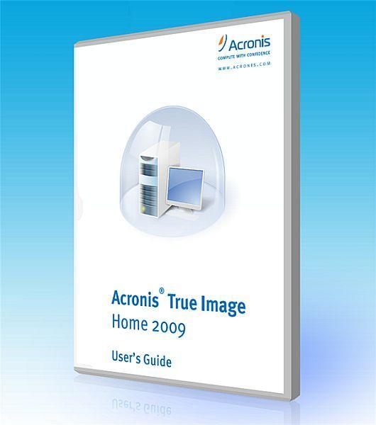 Acronis True Image Home 2009 v12 Build 9608