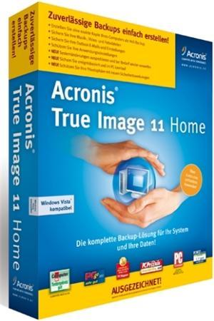 Acronis True Image Home 11 Build 8101