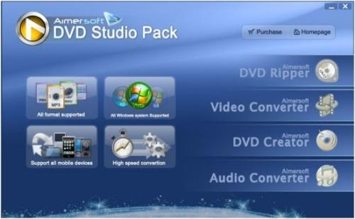 Aimersoft DVD Studio Pack 1.1.56