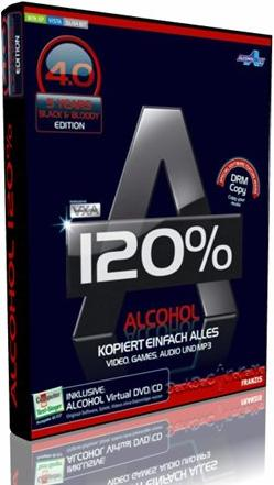 Alcohol 120% Black Edition v4.0 (Multilanguage)