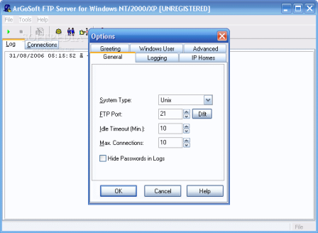 ArGoSoft FTP Server NET v1.0.1.1