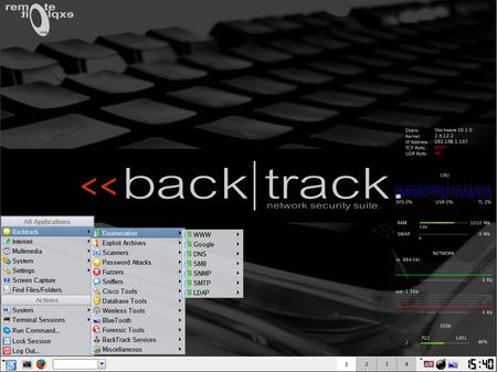 BackTrack Live Hacking CD BETA 3