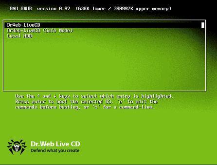Dr.Web LiveCD v4.44.0.0810270