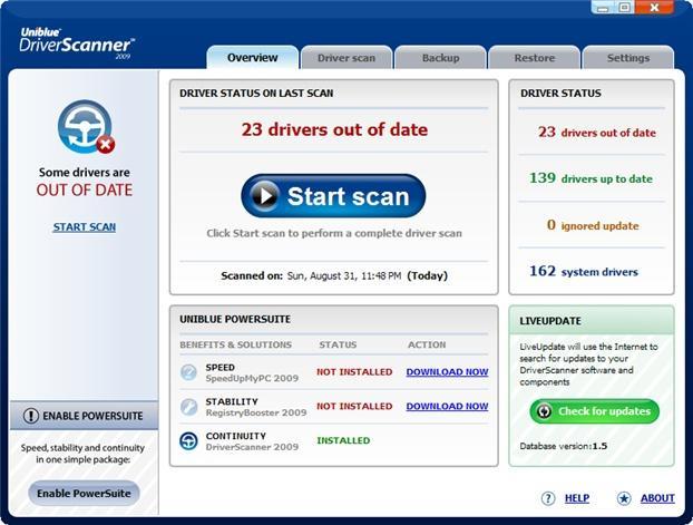 DriverScanner 2009 v2.0.0.26