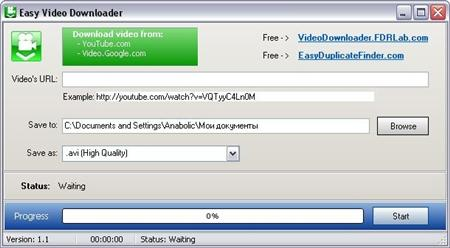 Easy Video Downloader v2.0