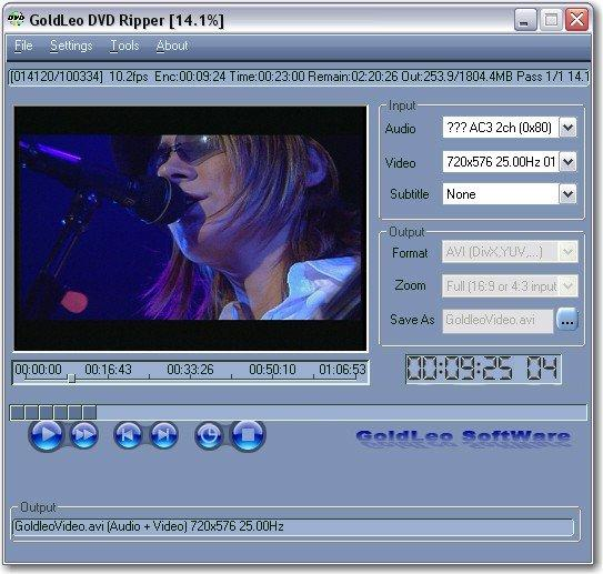 GoldLeo DVD Ripper v2.2