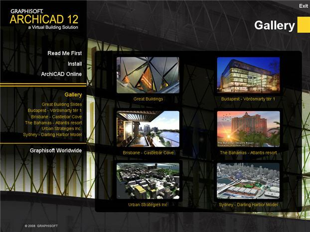 Graphisoft ArchiCAD 12 ENG full CD