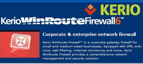 Kerio WinRoute Firewall v6.5.1.5000
