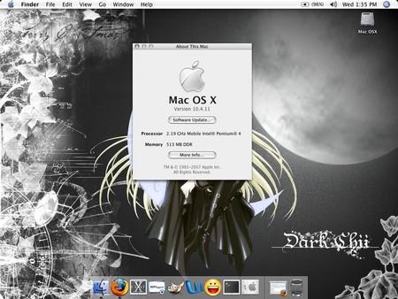 Mac OS X Tiger v10.4.11