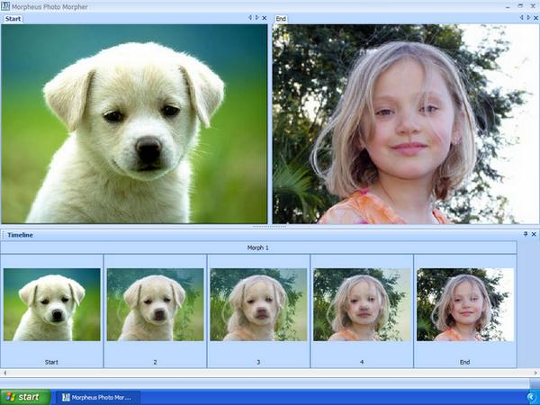 Morpheus Photo Animation Suite v3.10 - морфинг и анимация