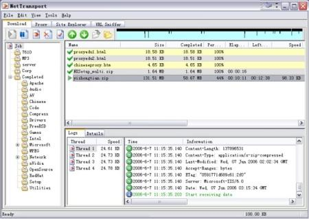 NetTransport 2.60 Build 402 Portable Rus