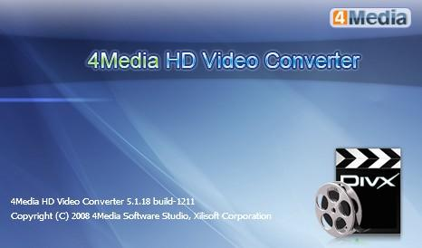 Portable 4Media HD Video Converter v5.1.18.1211