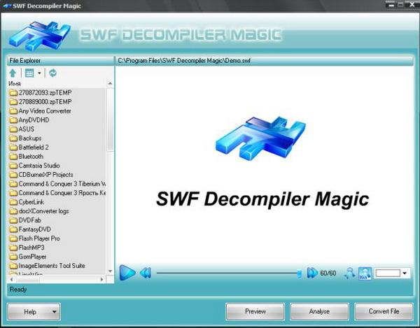 Portable SWF Decompiler Magic v5.0.2.6