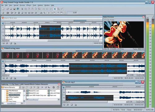 Sony Sound Forge Audio Studio 9.0c build 187