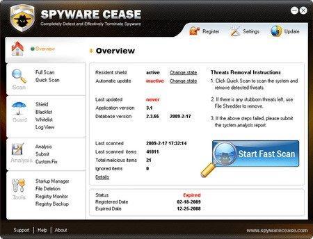 Spyware Cease v3.7