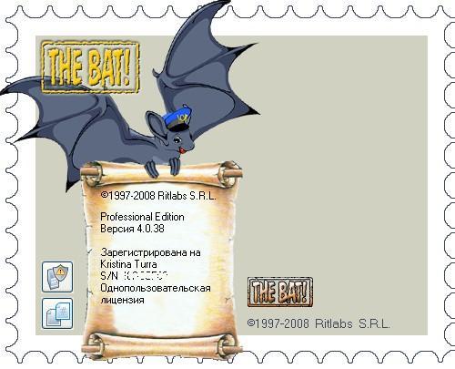 The Bat! v4.0.38 Rus