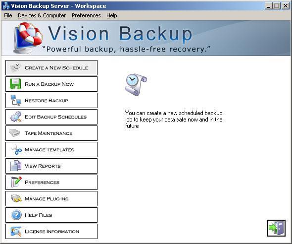 VisionWorks Vision Backup Enterprise v10.15.8