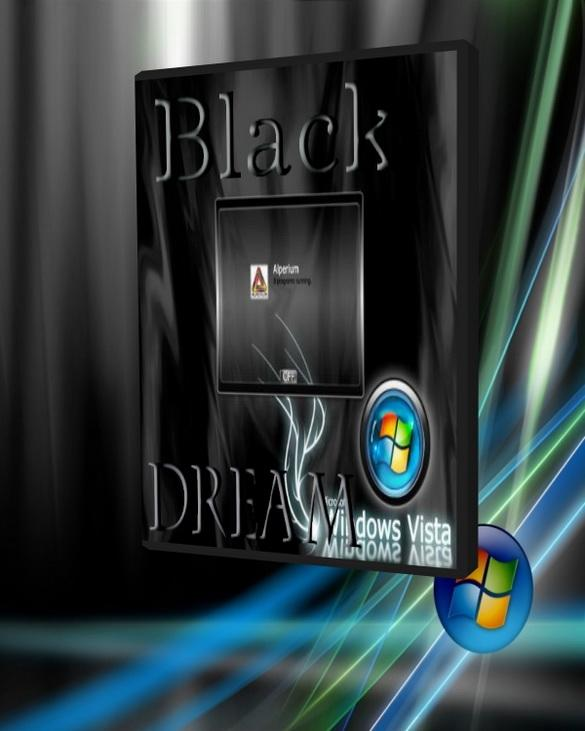 Windows Vista Black Dream 2008